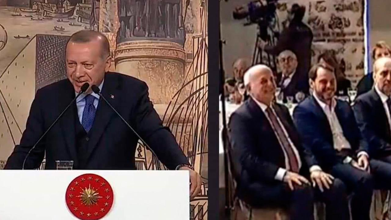 36 şehit açıklaması yapan Erdoğan'ın Trump'la diyaloğunu gülerek anlatması tepki çekti