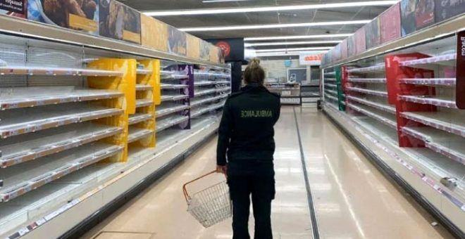 Alışveriş için markete giden sağlık çalışanı, boş rafları görünce gözyaşlarına boğuldu - Sayfa 2