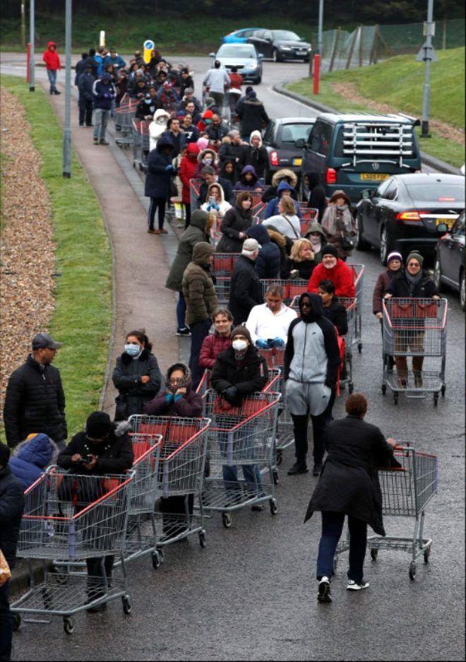 Alışveriş için markete giden sağlık çalışanı, boş rafları görünce gözyaşlarına boğuldu - Sayfa 3
