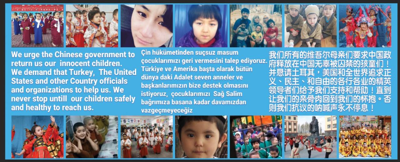Uygurlu kadınlardan İstanbul'da protesto: Çocuklarımızı geri istiyoruz