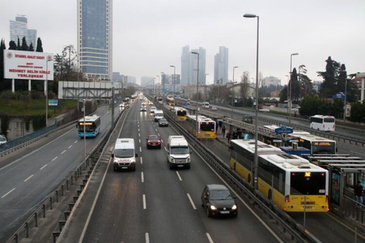 İstanbul'un Pazartesi trafiğine corona etkisi! - Sayfa 4