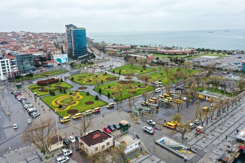 Koronavirüsün ardından İstanbul'un meydanları havadan görüntülendi - Sayfa 4