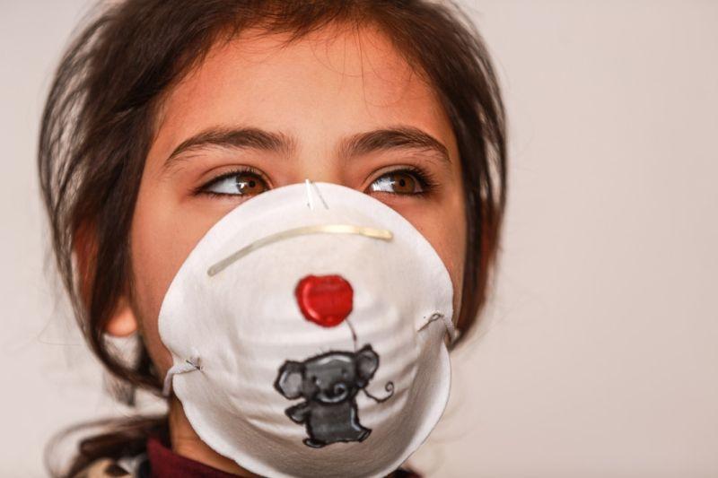 Gazzeli sanatçılar, koronavirüsle mücadele için maskeleri renklendiriyor - Sayfa 4