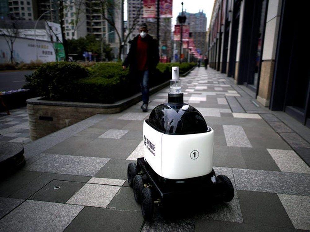 İşte corona virüs ile mücadele eden robotlar - Sayfa 4