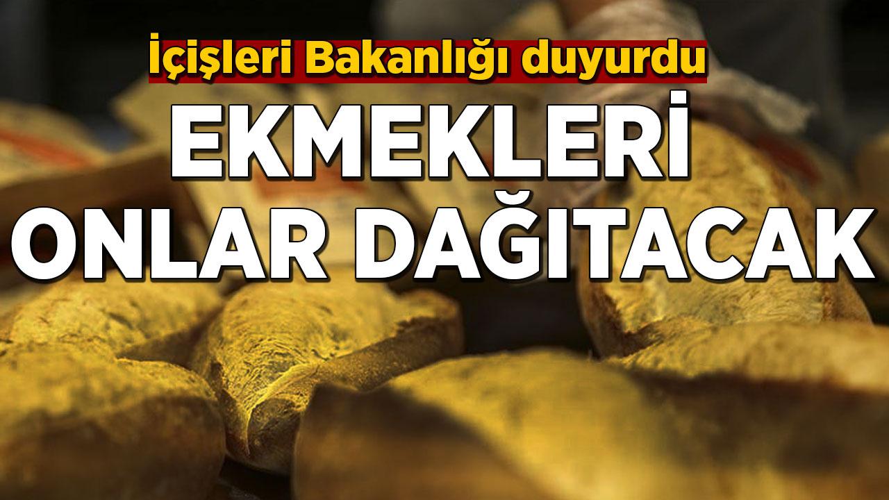 İçişleri Bakanlığı'ndan 'ekmek' açıklaması