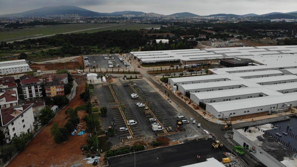 Sancaktepe'deki pandemi hastanesi açılış için gün sayıyor - Sayfa 4