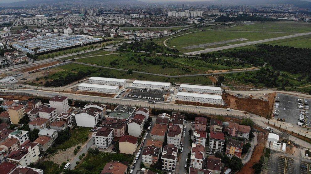 Sancaktepe'deki pandemi hastanesi açılış için gün sayıyor - Sayfa 1