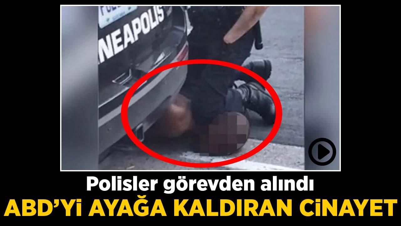 ABD'yi ayağa kaldıran cinayet! Polisler görevden alındı