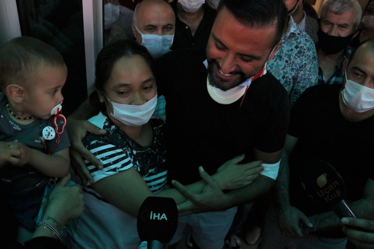 Kaza yapan şarkıcı Alişan, ailesiyle birlikte hastaneden taburcu oldu - Sayfa 3