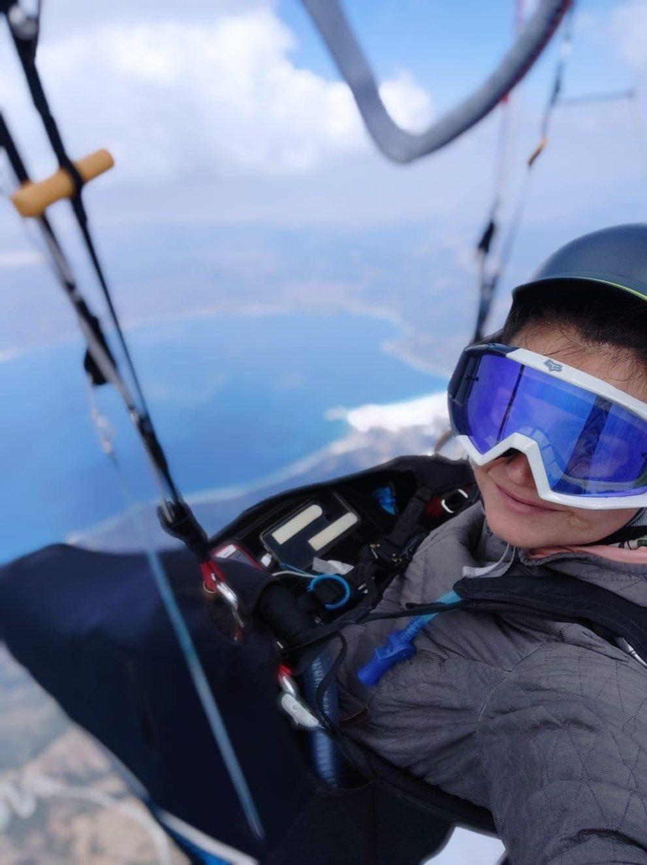 Yamaç paraşütü sporcusu Gülşah Hoş'tan rekor uçuş - Sayfa 4