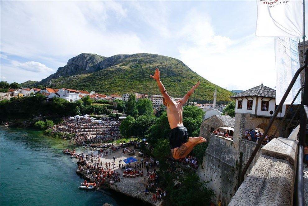 Bosna Hersek'te '454. Geleneksel Mostar Köprüsü Atlayışları' yapıldı - Sayfa 4