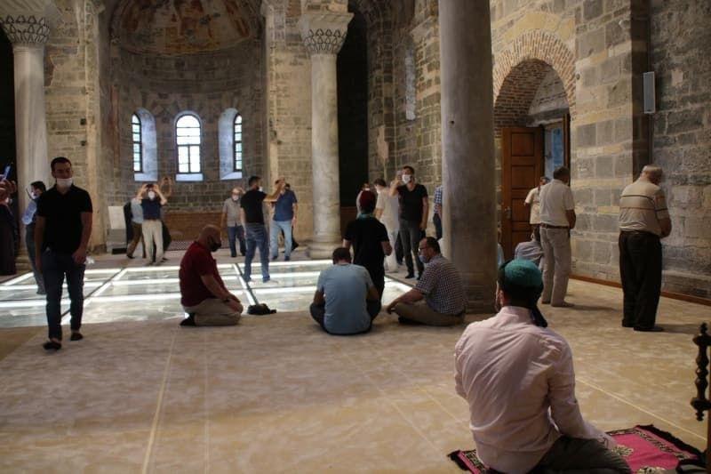 Trabzon Ayasofya Camii ziyaretçi akınına uğruyor - Sayfa 2