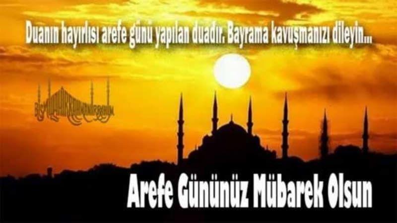 Kurban Bayramı arefe günü kutlama mesajları resimli seçenekleriyle! - Sayfa 1