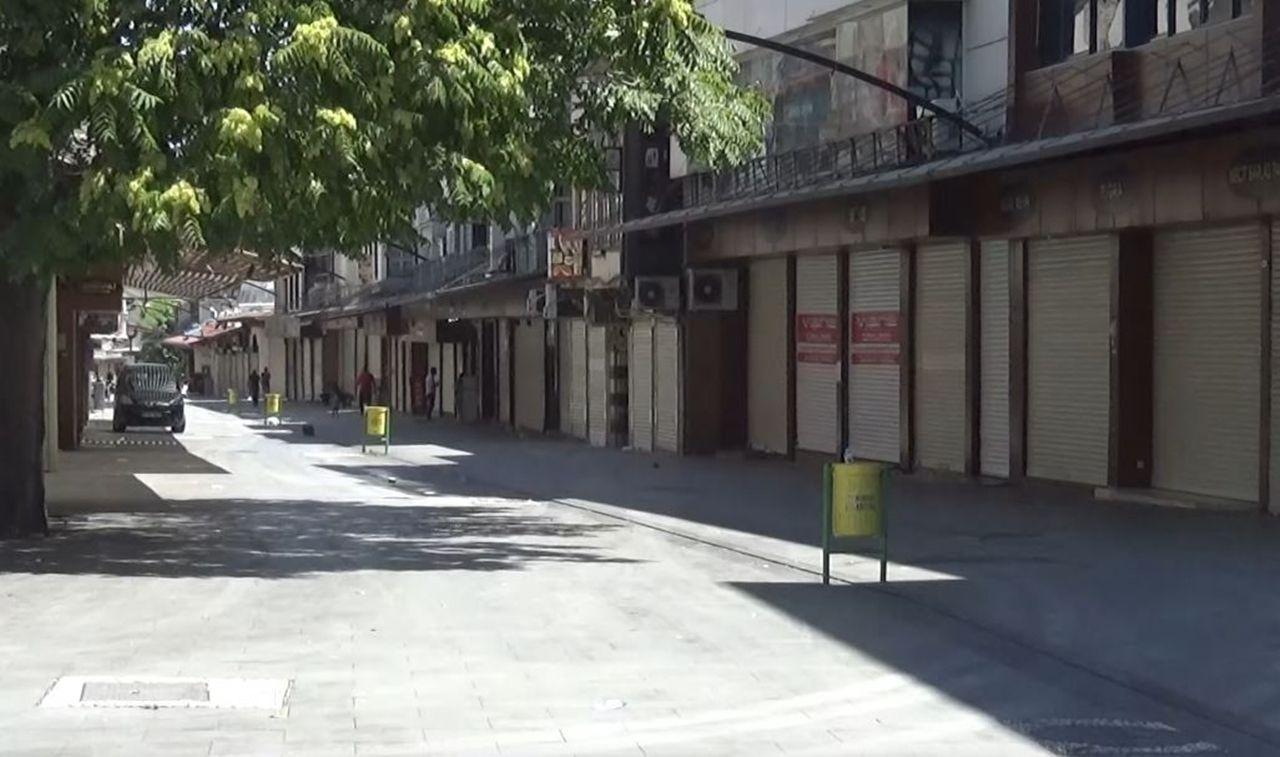 Gaziantep'te cadde ve sokaklar bu kez bomboş kaldı - Sayfa 2