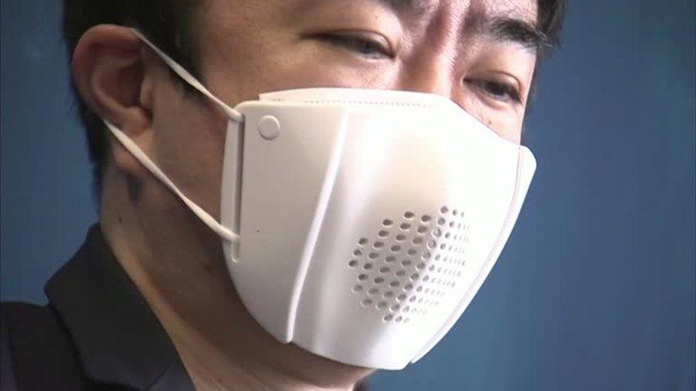 8 dilde çeviri yapabilen akıllı maske - Sayfa 1
