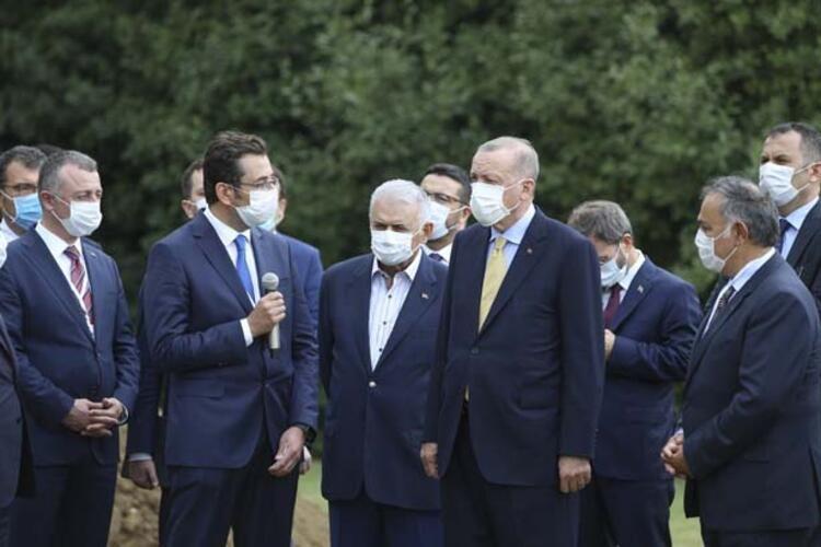 Cumhurbaşkanı Erdoğan yerli ve milli ekskavatörü inceleyerek bilgi aldı - Sayfa 3