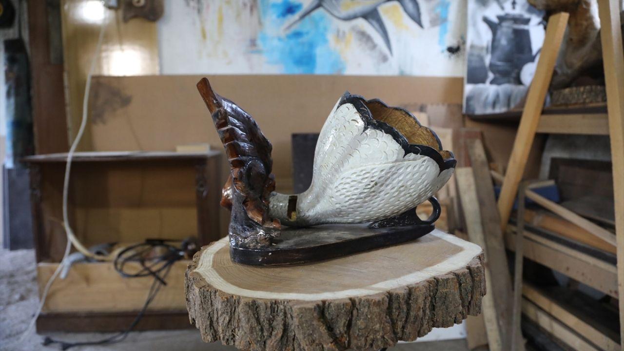 Bingöllü usta doğadan topladığı malzemeleri sanat eserine dönüştürüyor - Sayfa 1