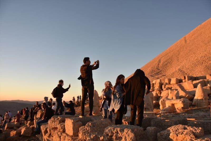 Nemrut Dağı'na ziyaretçi akını - Sayfa 4