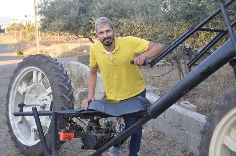 Sosyal medya fenomeni, traktör tekerli motosiklet yaptı - Sayfa 3