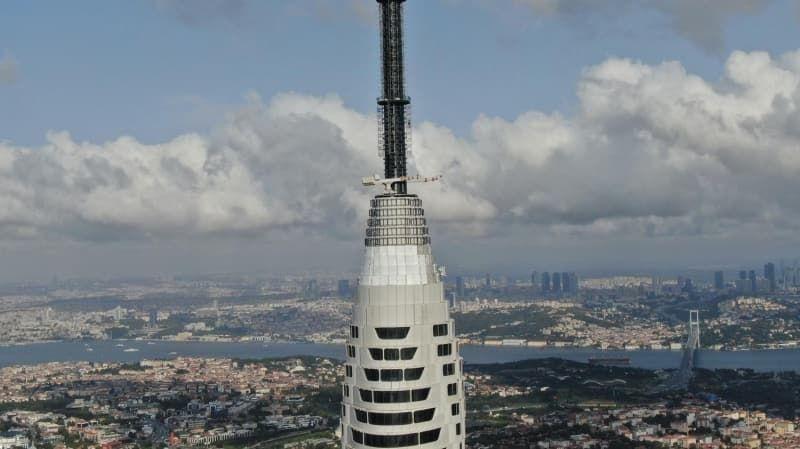 Küçük Çamlıca TV-Radyo Kulesi'ndeki eski antenler kaldırılıyor - Sayfa 3