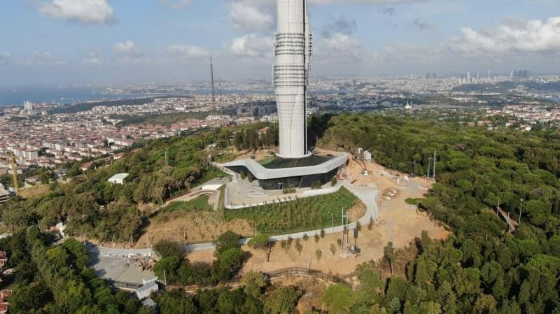 Küçük Çamlıca TV-Radyo Kulesi'ndeki eski antenler kaldırılıyor - Sayfa 4