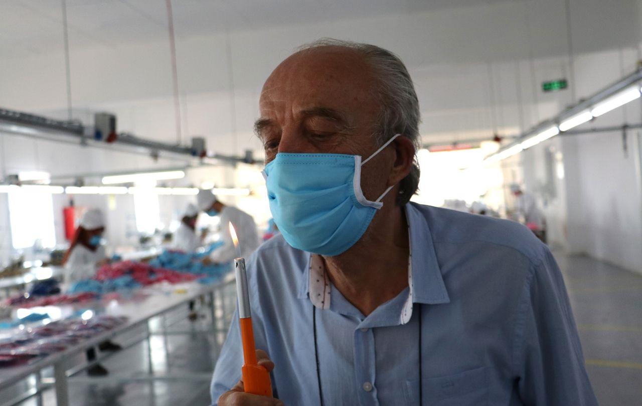 Korona virüsü öldüren maskede seri üretime geçildi - Sayfa 2