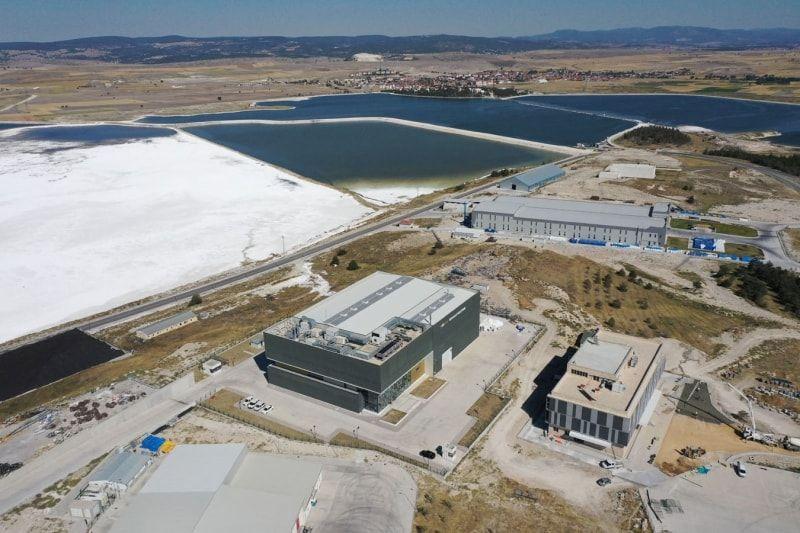 Lityum üretilecek tesiste hazırlıklar hızla devam ediyor - Sayfa 1
