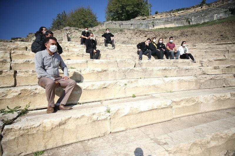 Düzce'de özel çocuklar antik tiyatrodaki kazı çalışmalarına katıldı - Sayfa 3