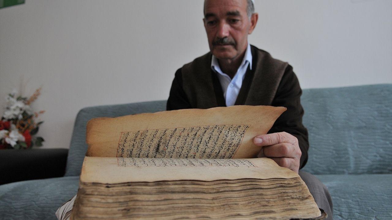 Ata yadigarı el yazması Kur'an-ı Kerim'e özenli bakım - Sayfa 4