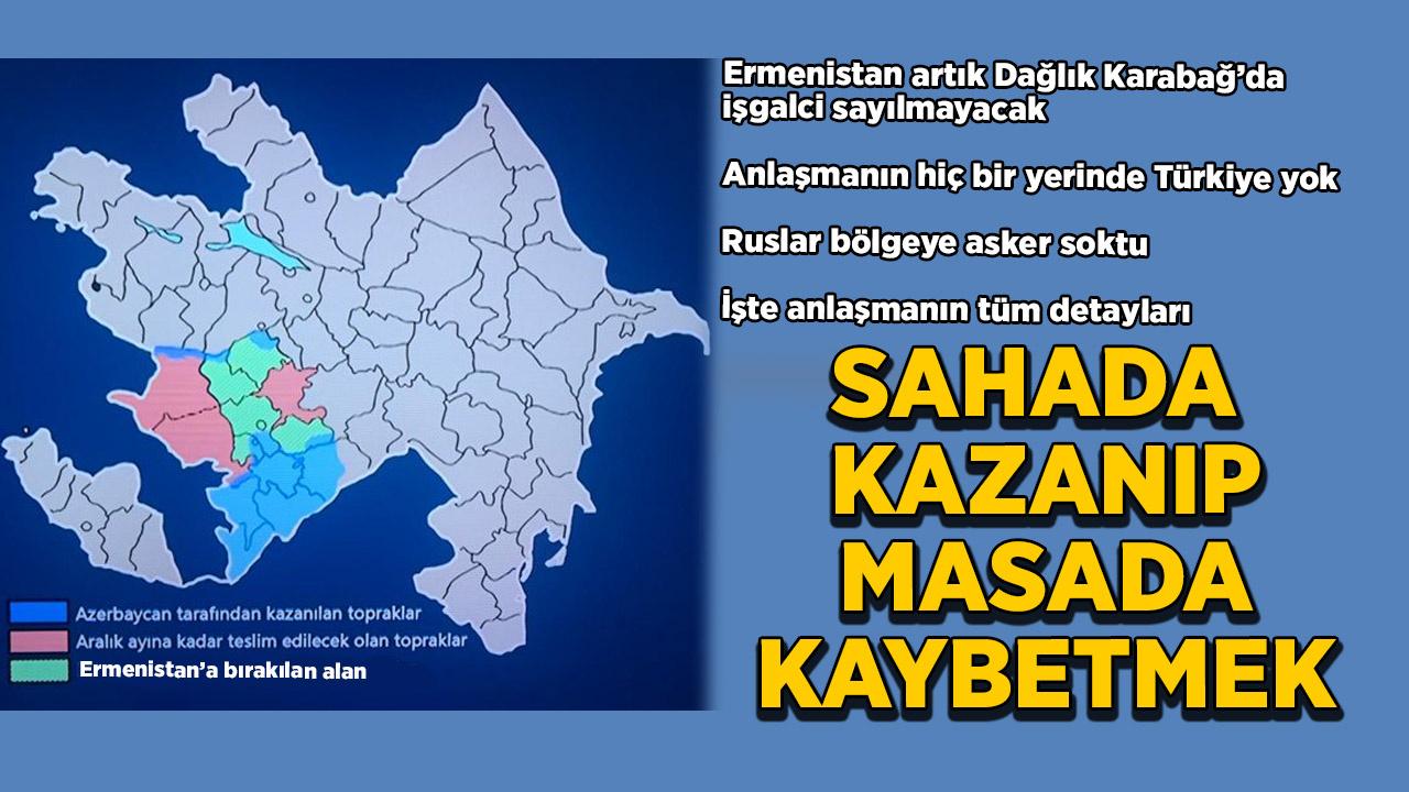 Azerbaycan, Karabağ'daki Ermenistan varlığını resmen kabul etti