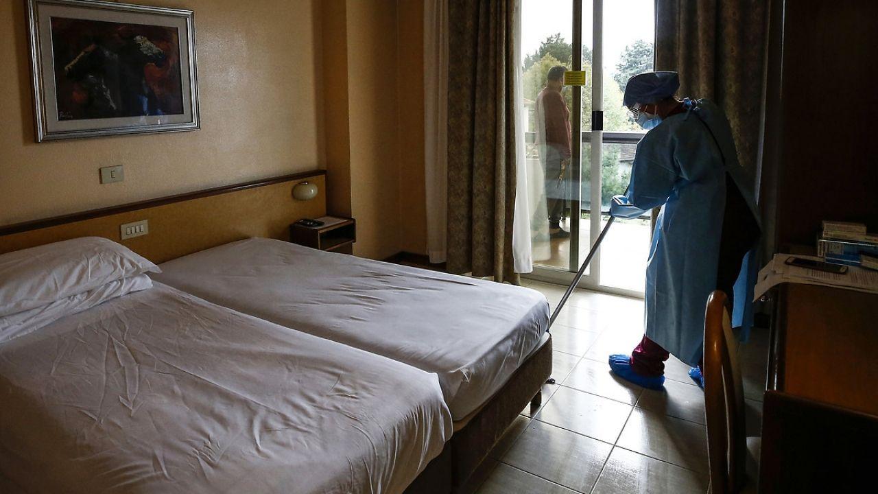 İtalya'da otel hastane oldu - Sayfa 3