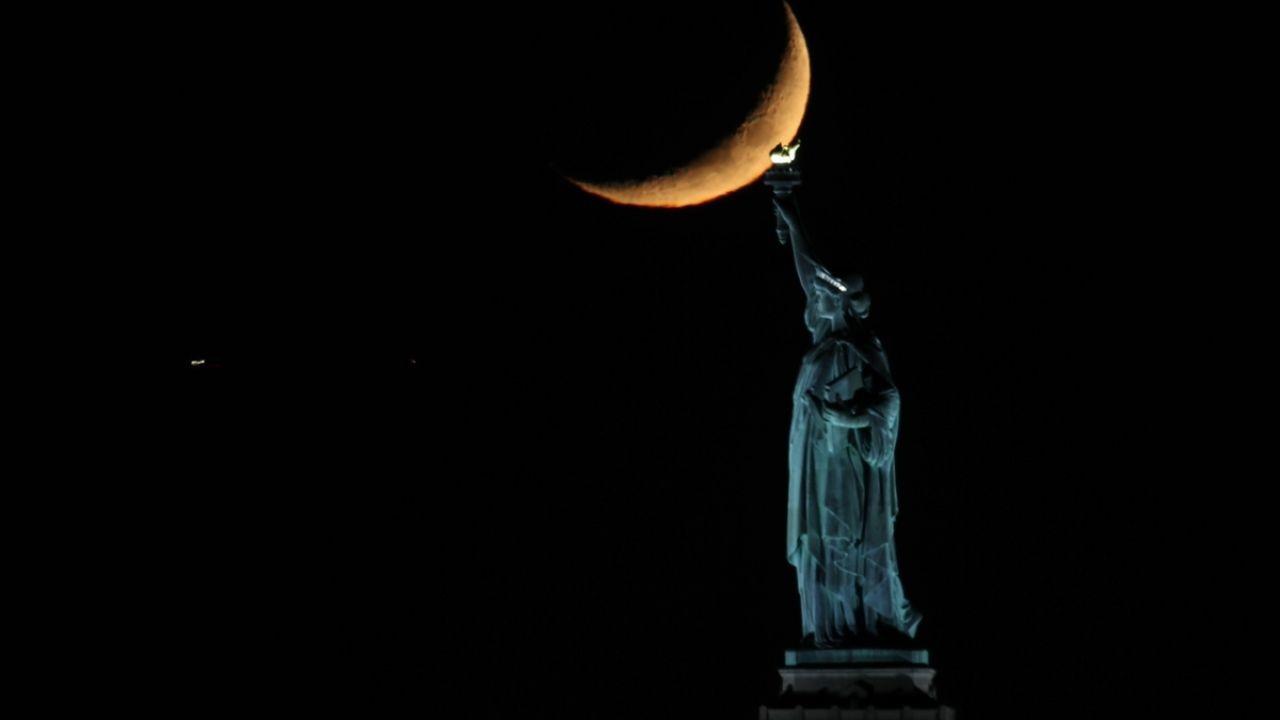 New York'da hilal güzel görüntü oluşturdu - Sayfa 2
