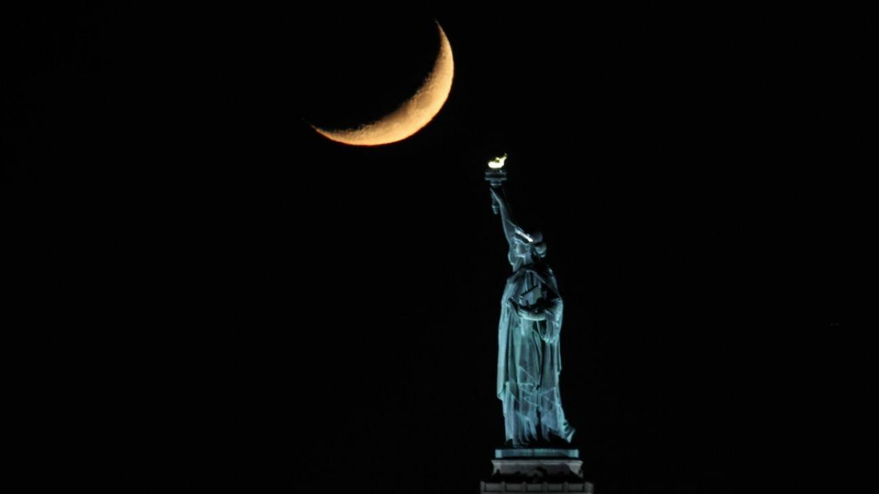 New York'da hilal güzel görüntü oluşturdu - Sayfa 3