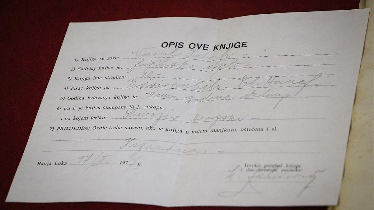Bosna'daki kütüphane Osmanlı döneminden eserleri yıllardır koruyor - Sayfa 3