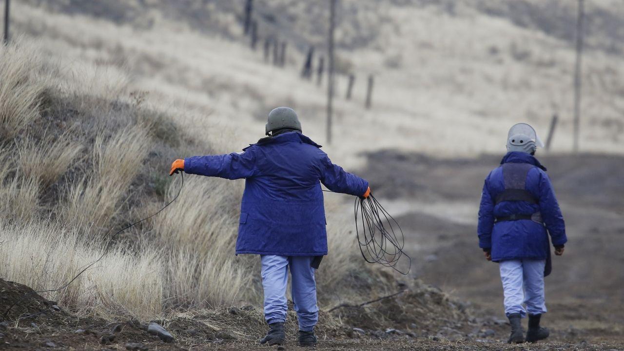 Karabağ'da kurtarılan bölgeler, mayından temizleniyor - Sayfa 2