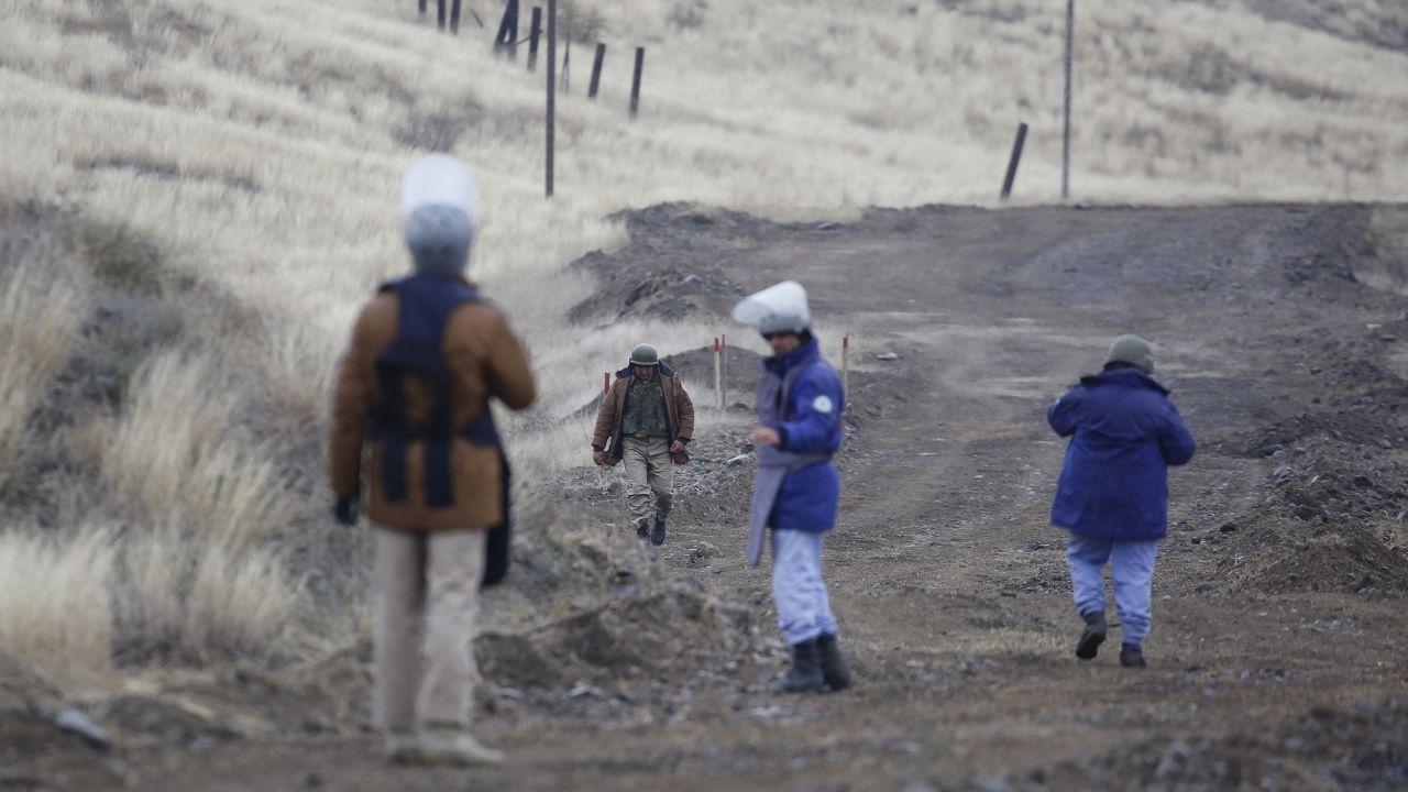 Karabağ'da kurtarılan bölgeler, mayından temizleniyor - Sayfa 4