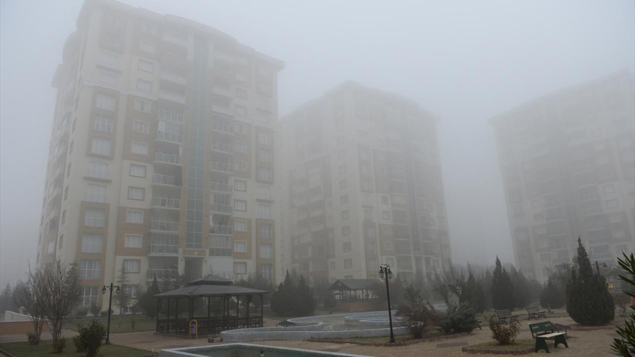 Malatya'da yoğun sis - Sayfa 1