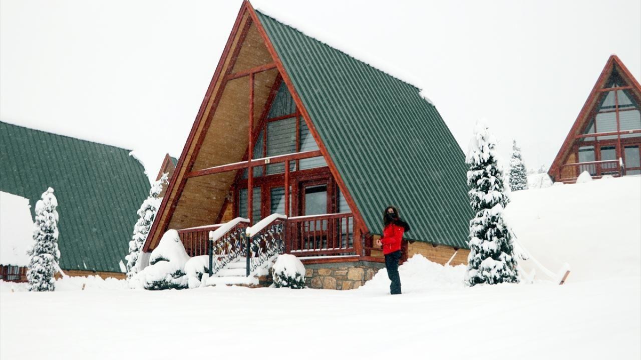 Yıldız Dağı Kayak Merkezi'nde kar kalınlığı 25 santimetreye ulaştı - Sayfa 2