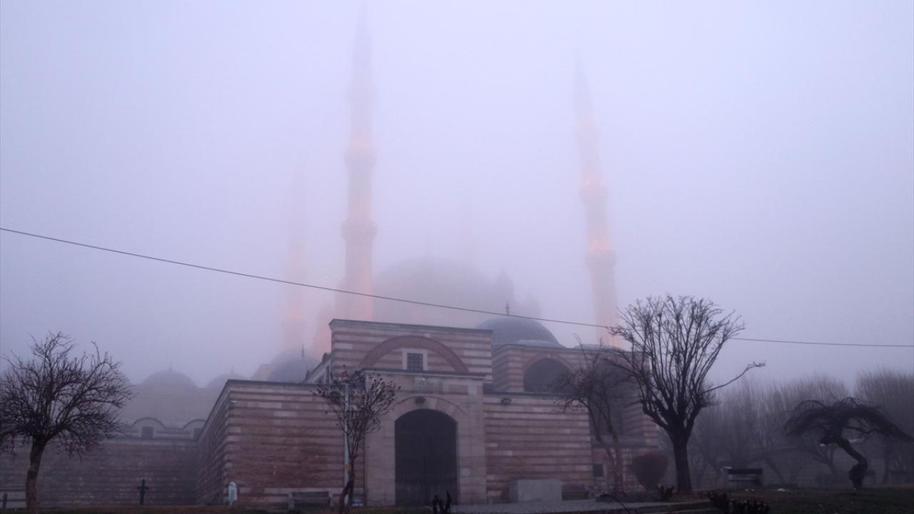 Sis nedeniyle Selimiye Camii gözden kayboldu - Sayfa 1