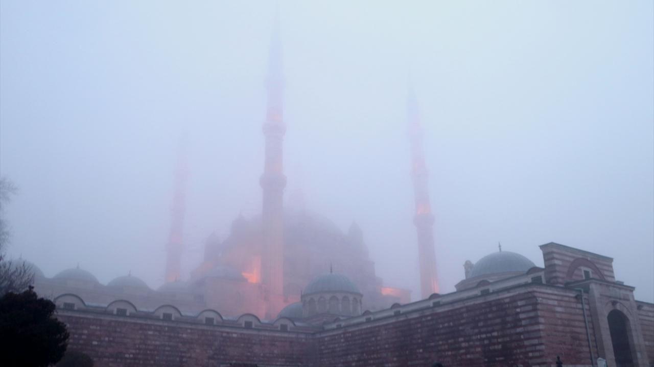 Sis nedeniyle Selimiye Camii gözden kayboldu - Sayfa 2