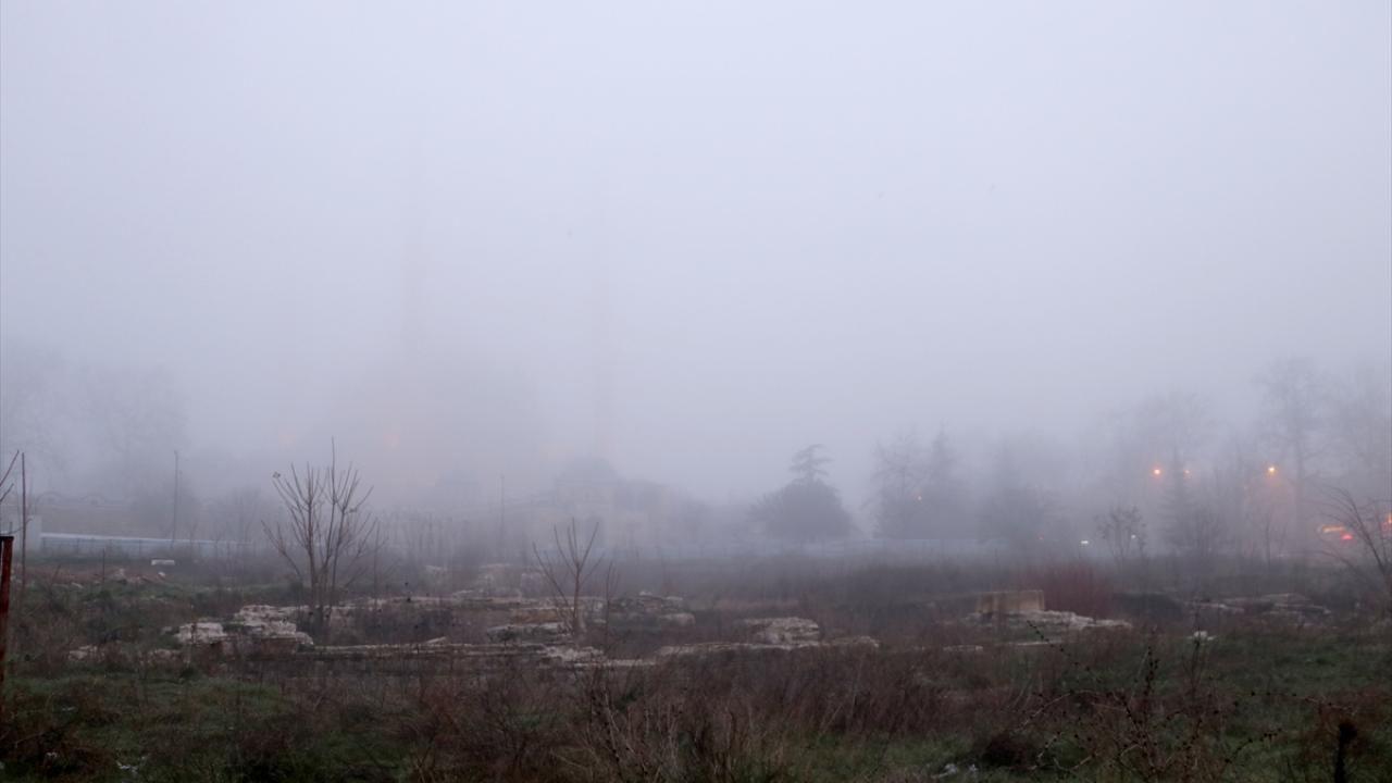 Sis nedeniyle Selimiye Camii gözden kayboldu - Sayfa 4