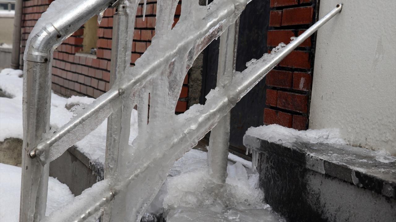 Doğu Anadolu'nun en soğuk kenti eksi 23 dereceyi gördü - Sayfa 4