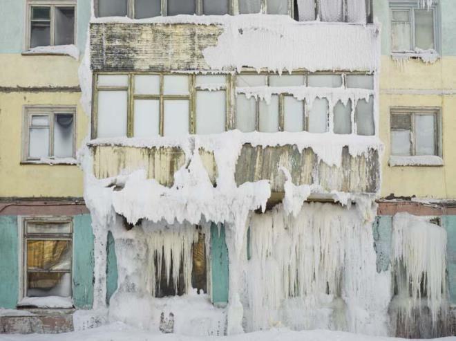 Daireler, merdivenler, posta kutuları! Sıcaklığın eksi 50 dereceye düştüğü yerde her şey buz tuttu - Sayfa 4