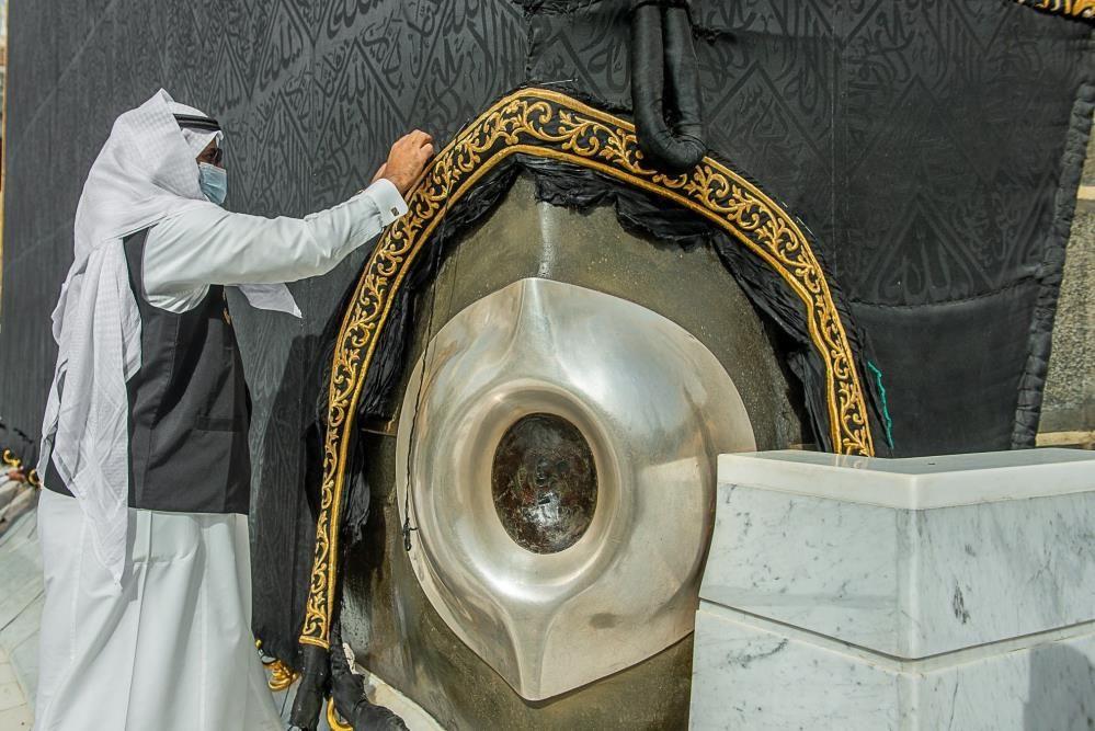 Kabe örtüsünün mevsimlik bakım çalışmaları Ramazan ayı öncesinde başladı - Sayfa 4