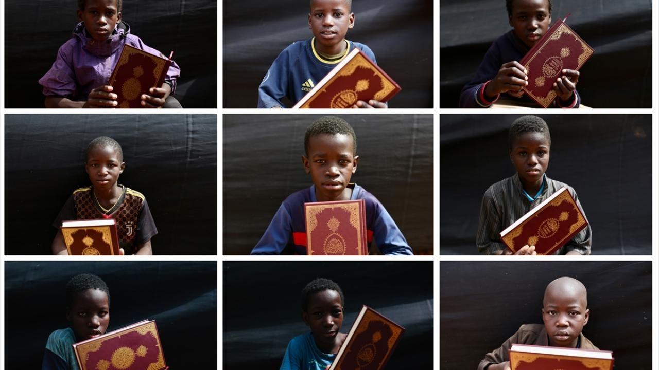 Moritanyalı çocukların Kur'an-ı Kerim sevinci - Sayfa 1