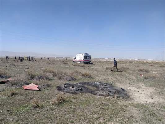 Konya'da Türk Yıldızları'na ait uçak düştü - Sayfa 3