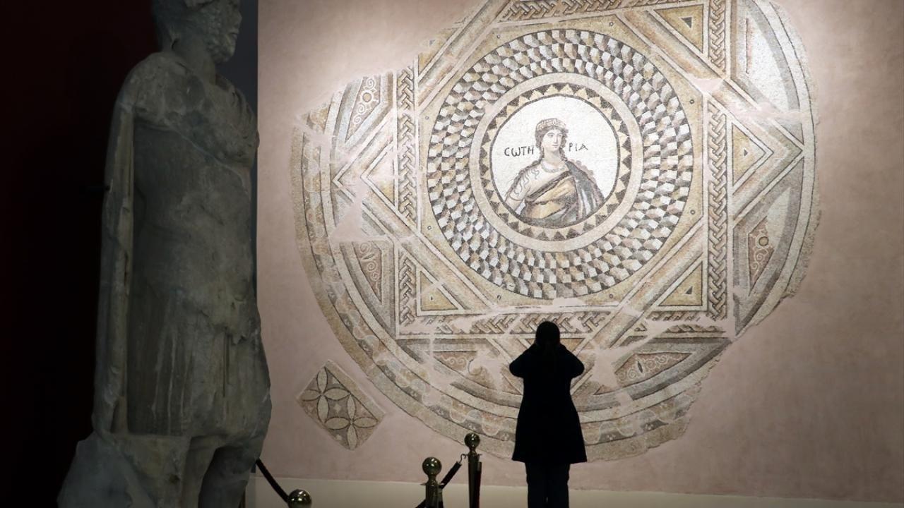 Mozaik müzeleri tarihe ışık tutuyor - Sayfa 1