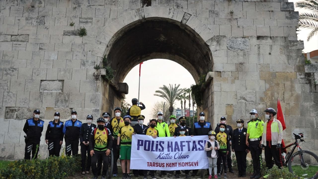 Türk Polis Teşkilatı'nın 176. yılı anısına bisiklet turu düzenlendi - Sayfa 1
