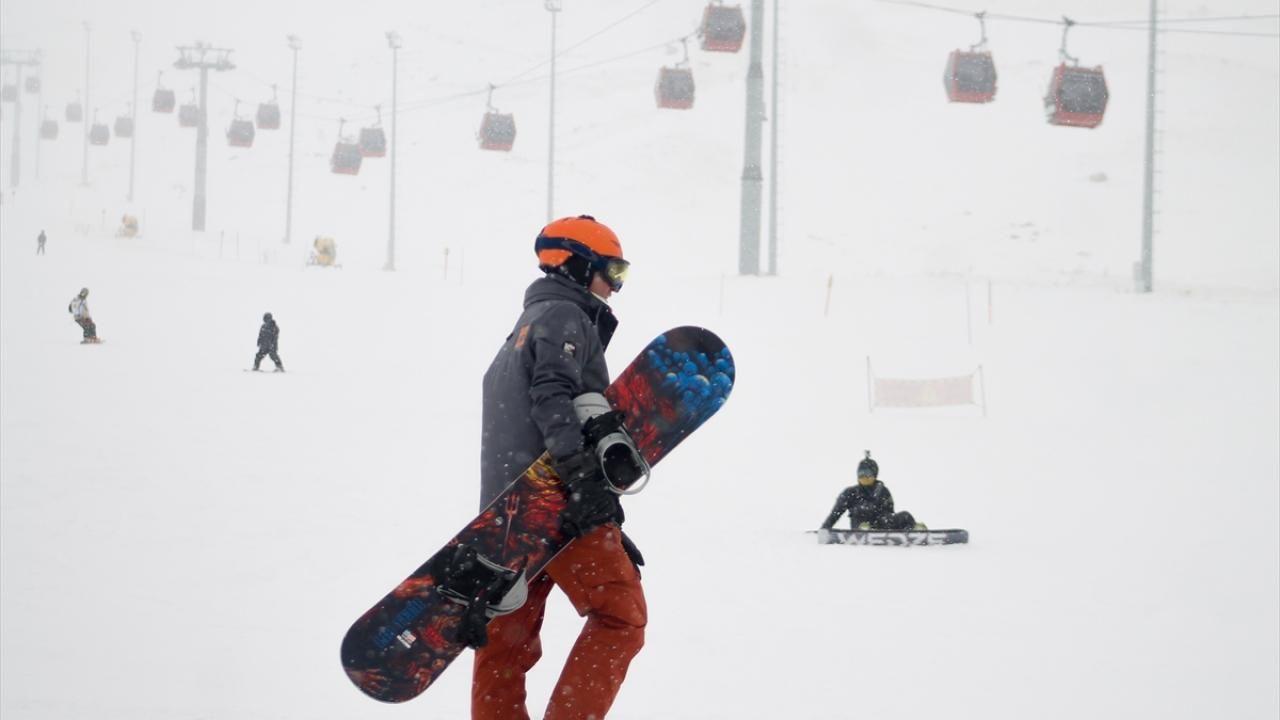 Erciyes'te yoğunluk: Nisan ayında kayak keyfi - Sayfa 4