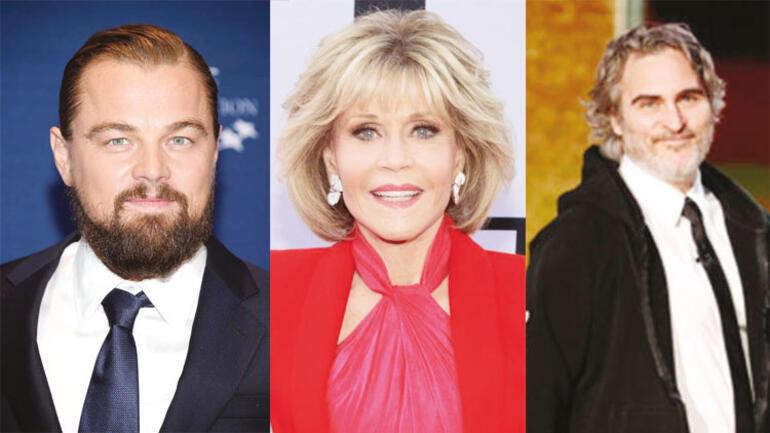 Leonardo DiCaprio, Jane Fonda, Joaquin Phoenix